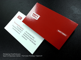 Spot UV Business Cards, Full Color Printing