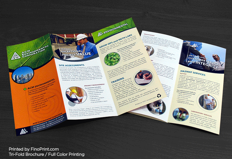 Brochures, Full-color Printing,Tri-fold Flyer, Flyers