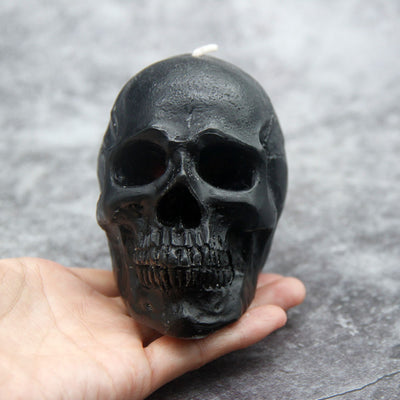Horrible Bleeding Skull Candle