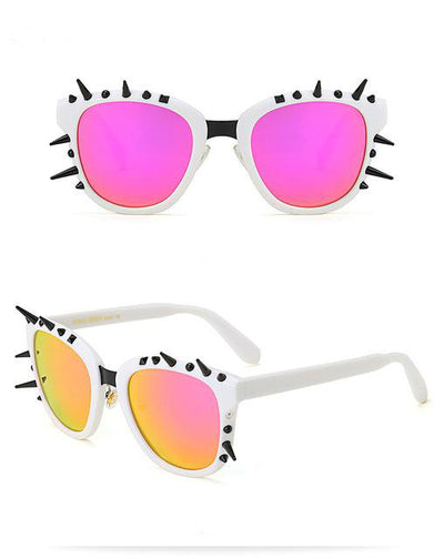 Gothic Rivet Spike Sunglasses