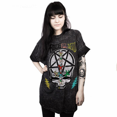 Skull Pentagram Black T-shirt