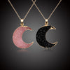 Free - Resin Moon Necklace