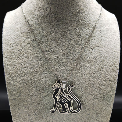 Free - Gothic Cat Necklace
