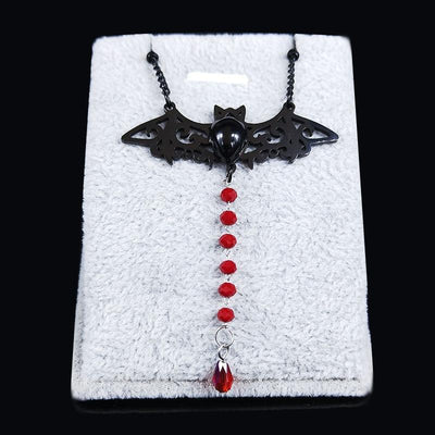 Bat Chain Necklace