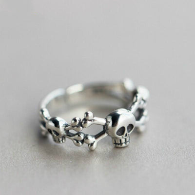 Free - Steampunk Skull Ring