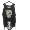 Retro Rock Women Skull Tank Top