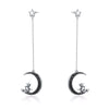Moon Star Witch Drop Earrings
