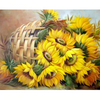 DIY Sunflowers Wall Art Painting