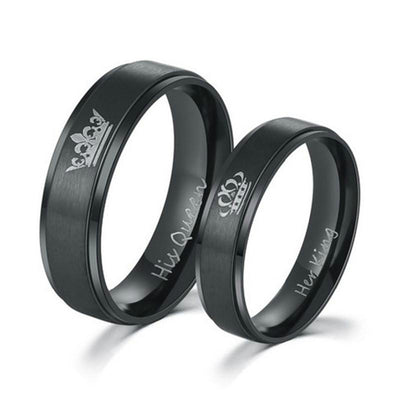 Couple Stainless Steel Rings