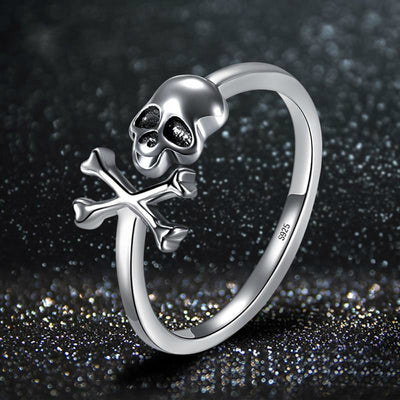 Free - Cross Skull Ring