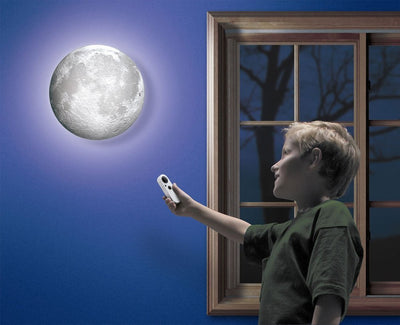 Amazing LED Healing Moon Lamp with Remote Controller