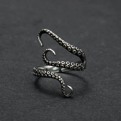 Octopus Fingers Open Ring