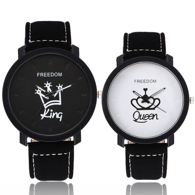 Queen and King  Wrist Watch