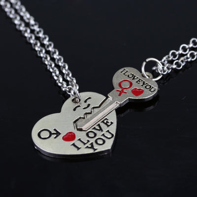 Heart Couple Necklace