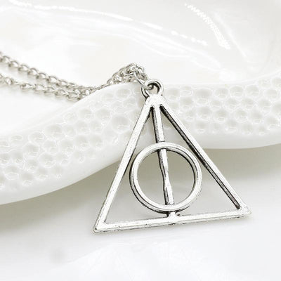 The Deathly Hallows Ace Necklace