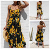 Sunflower Sleeveless Summer Dress