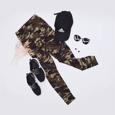 Camouflage Fit Leggings