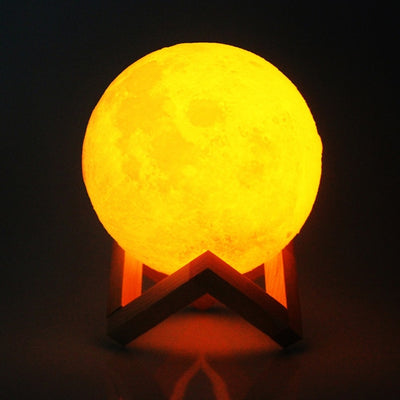 Two Colors Moon Night Light