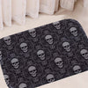 Anti-Slip Skull Carpet
