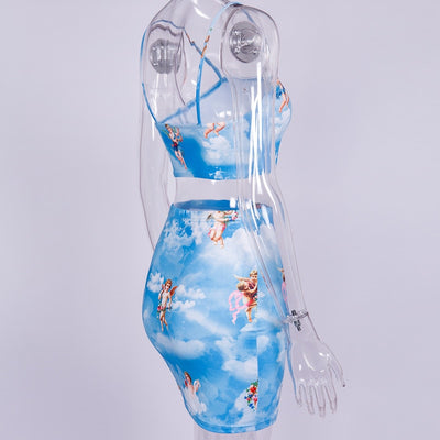 Blue Sky Angel Clothing Set