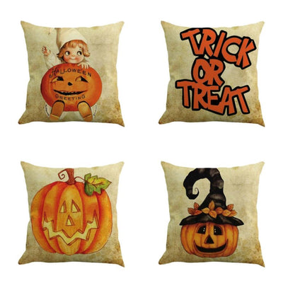 Free - Halloween Pillow Cover