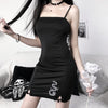 Dragon Gothic Bodycon Mini Dress