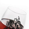 High-Grade Skull Crystal Wine Glass