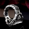 Gothic Skeleton Coffin Ring