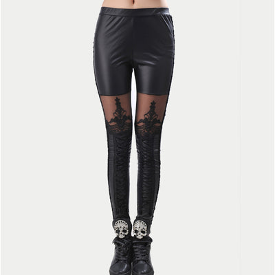 Gothic Lace Legging