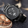 Luxury Skull Quartz Watch