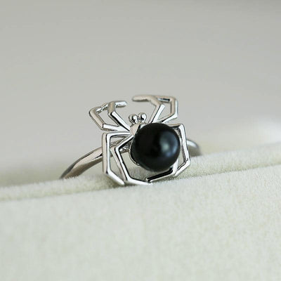 Black Spider Ring