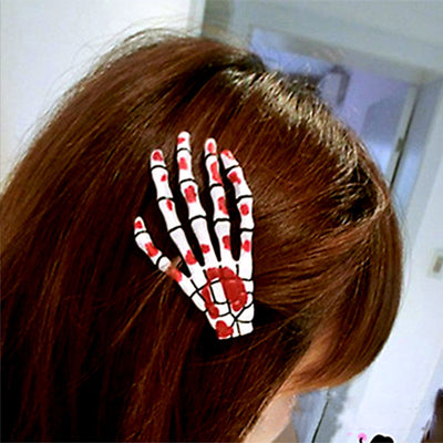 Free - Hand Skeleton Hairpin