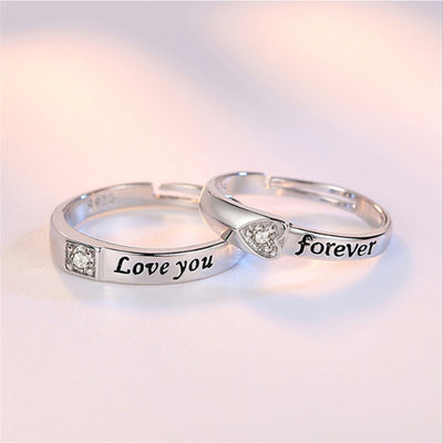 Adjustable Couple Rings