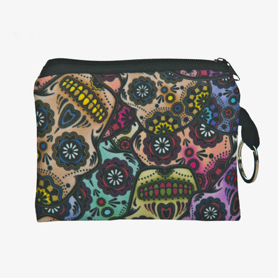 Free - Colorful Skull Purse