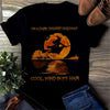 """On A Dark Desert Highway"" Witch T-shirt"