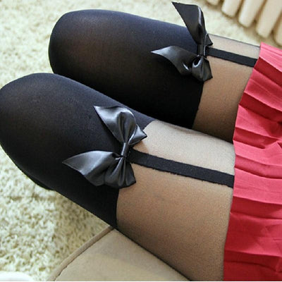 Gothic Bow Tights