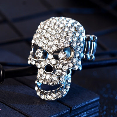 Free - Skeleton Crystal Ring