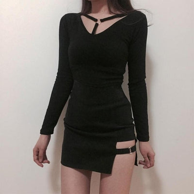 Gothic Punk High Waist Skirt