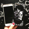 Retro Gothic Skull Phone Case
