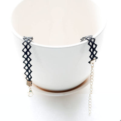 Black Star Choker Necklace