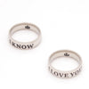 Stainless Couple Lover Ring