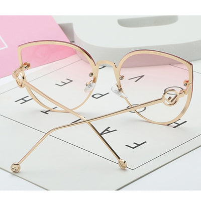 Elegant Woman Glasses