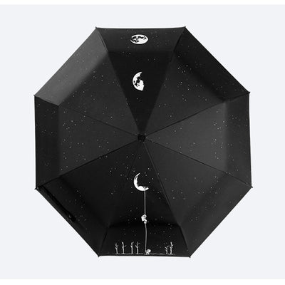 Astronaut And Moon Umbrella