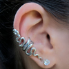 Punk Twist Snake Earrings