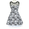 Vintage Skull Sleeveless Dress