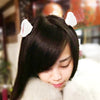 Plush Fox Cat Ear Head Clip