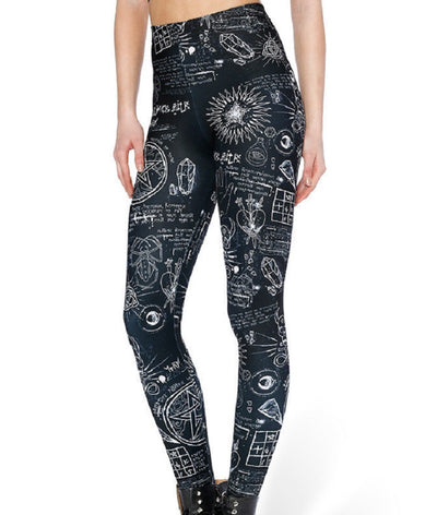 Witchy Black Leggings