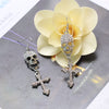Free - Skull Cross Vintage Earrings