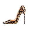 Leopard Pointy Toe Stilettos High Heels