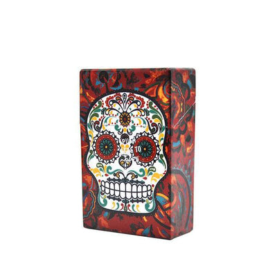 Sugar Skull Cigarette Case